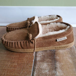 Mens Bearpaw Slip On Slippers